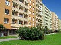 Casas prefabricadas en Brno Fotografía de archivo