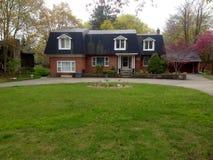 Casas privadas em Guelph fotografia de stock royalty free