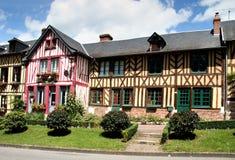 Casas quadro da madeira Fotografia de Stock Royalty Free