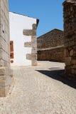Casas rústicas ásperas velhas em Europa Fotografia de Stock