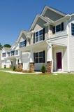 Casas residenciais novas Fotos de Stock Royalty Free