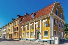 Casas residenciais pequenas Foto de Stock