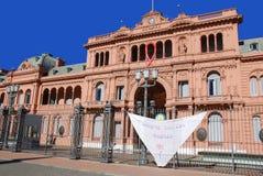 Casas Rosada Imagens de Stock Royalty Free