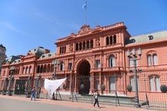 Casas Rosada Foto de Stock Royalty Free