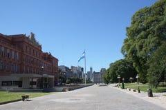 Casas Rosada en Buenos Aires Fotos de archivo libres de regalías
