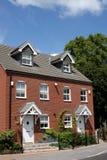 Casas Semi-Detached Foto de Stock