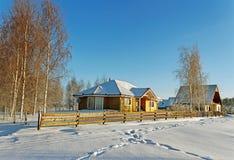 Casas separadas. Foto de archivo