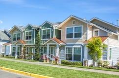 Casas suburbanas imagen de archivo libre de regalías