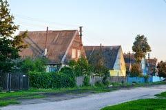 Casas suecas Fotografía de archivo libre de regalías
