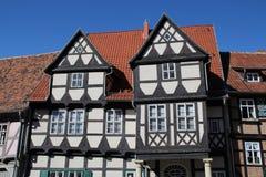 Casas suportadas Imagem de Stock