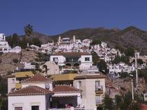 Casas típicas en Nerja Andalucía España Fotografía de archivo