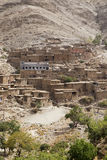 Casas típicas do marroquino Foto de Stock Royalty Free