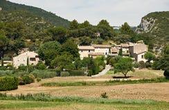 Casas típicas em Luberon, France de Provence Fotografia de Stock Royalty Free