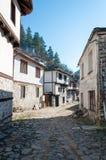 Casas tradicionais búlgaras Fotos de Stock Royalty Free