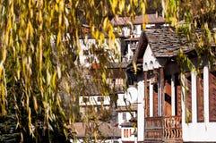 Casas tradicionais búlgaras Imagens de Stock Royalty Free