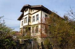 Casas tradicionais do otomano de Kastamonu, Turquia Imagem de Stock Royalty Free
