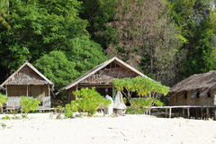 Casas tradicionais no recurso Fotos de Stock Royalty Free