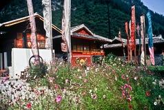 Casas tradicionales, China Fotos de archivo
