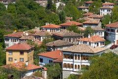 Casas tradicionales del otomano Imagen de archivo libre de regalías