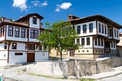 Casas tradicionales del otomano Foto de archivo libre de regalías