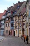 Casas tradicionales en Estrasburgo Imágenes de archivo libres de regalías