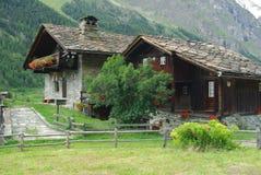 Casas tradicionales, Italia Imagen de archivo libre de regalías