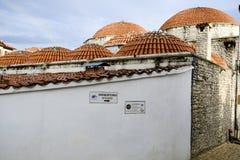 Casas turcas del baño de Hammam en Safranbolu fotografía de archivo libre de regalías
