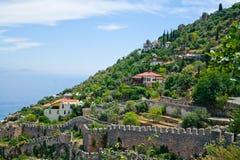 Casas turcas mediterrâneas Imagens de Stock