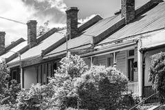 Casas urbanas fotos de archivo libres de regalías