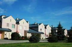Casas urbanas Foto de archivo libre de regalías