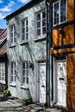 Casas urbanas danesas ( 2) - Aarhus Imagen de archivo
