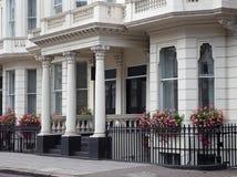 Casas urbanas de Londres Fotos de archivo libres de regalías
