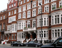 Casas urbanas elegantes de Londres foto de archivo libre de regalías