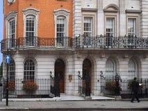 Casas urbanas elegantes, Londres imagen de archivo libre de regalías