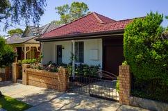Casas urbanas, Sydney, Austrália Fotografia de Stock