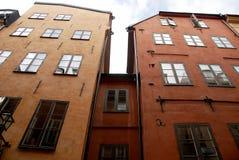 Casas velhas Fotografia de Stock Royalty Free