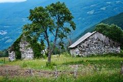Casas velhas Foto de Stock