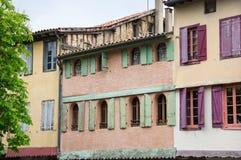 Casas velhas da estrutura imagem de stock royalty free