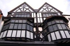 Casas velhas de Inglaterra Salisbúria fotos de stock royalty free