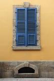 Casas velhas de Lefkosia (Nicosia), Chipre. Imagem de Stock