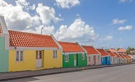 Casas velhas do empregado fotos de stock royalty free