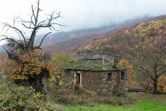 Casas velhas em Greece Imagem de Stock