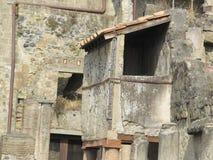 Casas velhas na cidade fotografia de stock