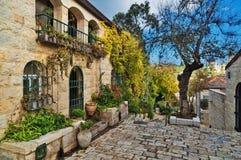 Casas velhas no Jerusalém Imagens de Stock Royalty Free