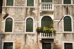 Casas velhas, Veneza, Itália imagens de stock