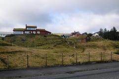 Casas vermelhas Imagem de Stock