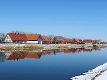 Vila Minge, Lithuania imagem de stock royalty free