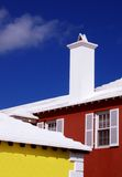 Casas vibrantes Imagens de Stock Royalty Free