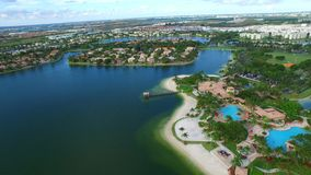 Casas video aéreas em Doral FL 5 video estoque