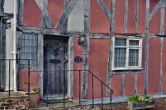 Casas viejas fotografía de archivo